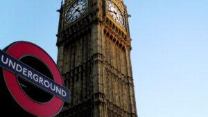 Londres big ben metro