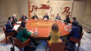 Reunión del Govern catalán