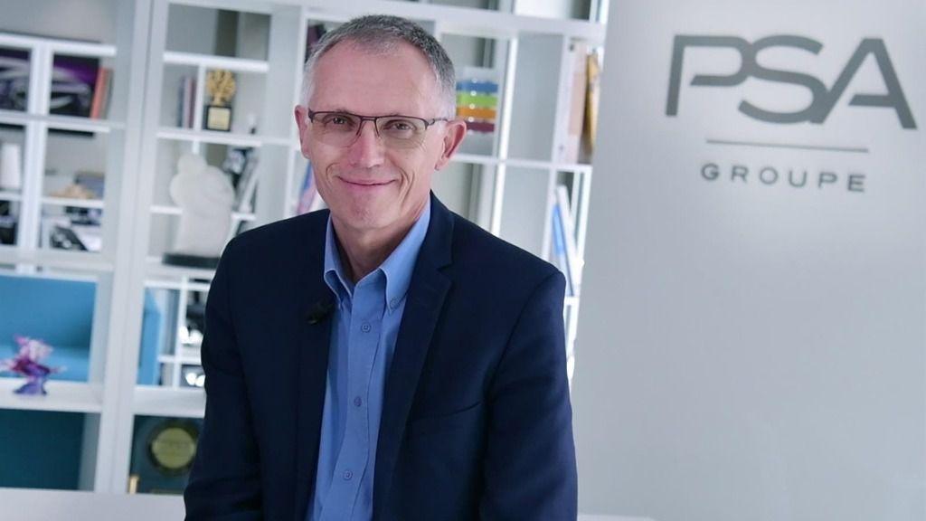 El presidente del Grupo PSA, Carlos Tavares.