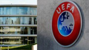 Sede de la UEFA en Nyon (Suiza)