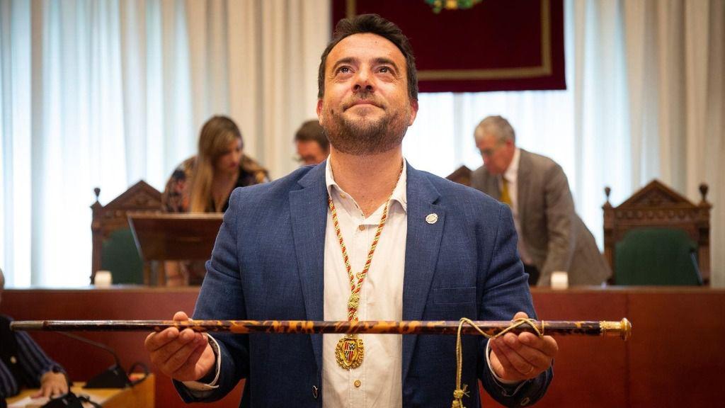 El alcalde de Badalona (Barcelona), Àlex Pastor