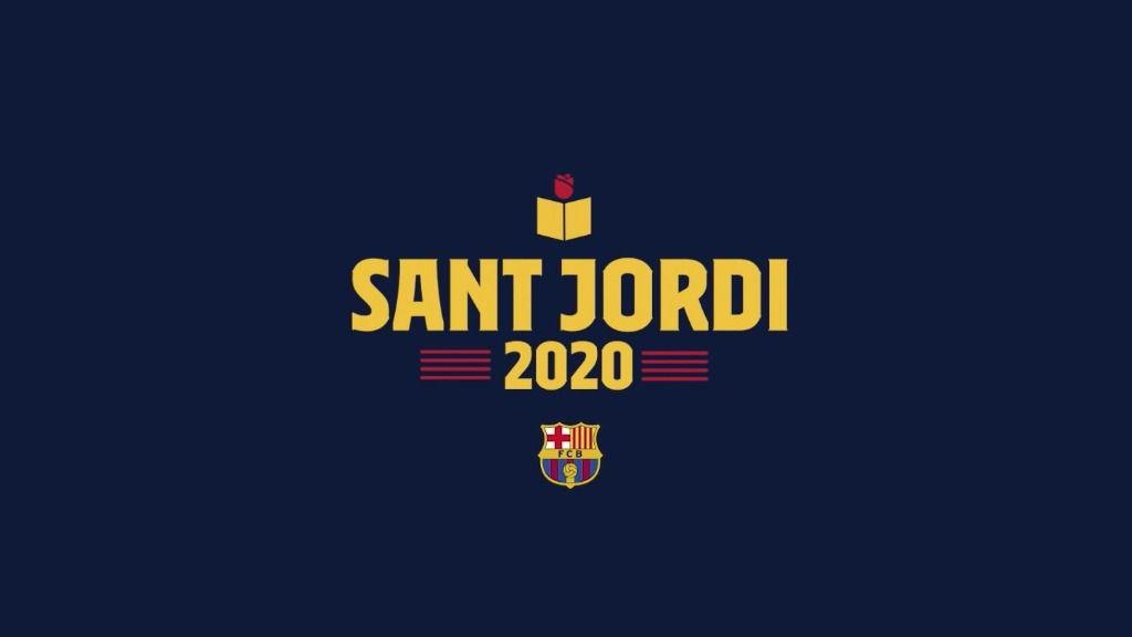 Sant Jordi 2020, felicitado por el FC Barcelona
