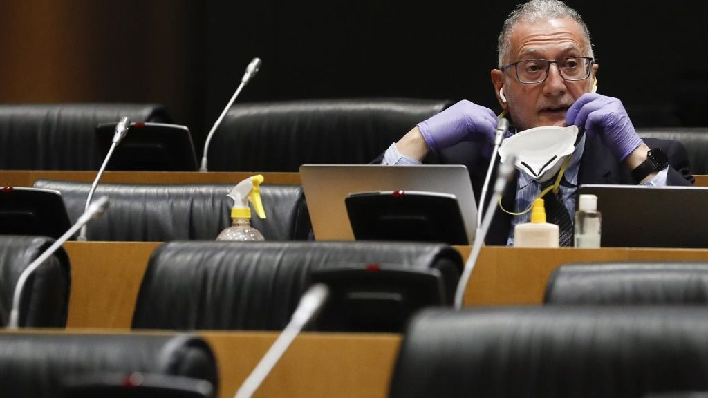 El diputado de Vox, Juan Luis Steegmann Olmedillas