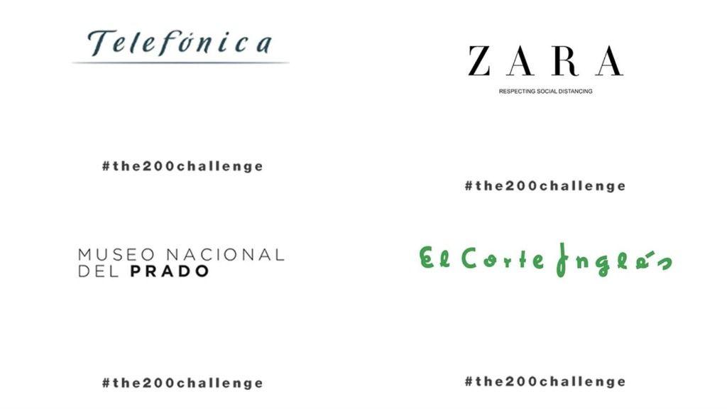 Empresas que se han unido al proyecto #the200challenge