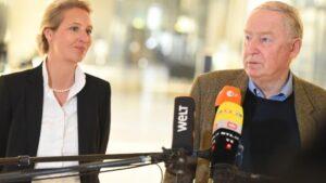 Alexander Gauland y Alice Weidel, líderes de Alternativa para Alemania