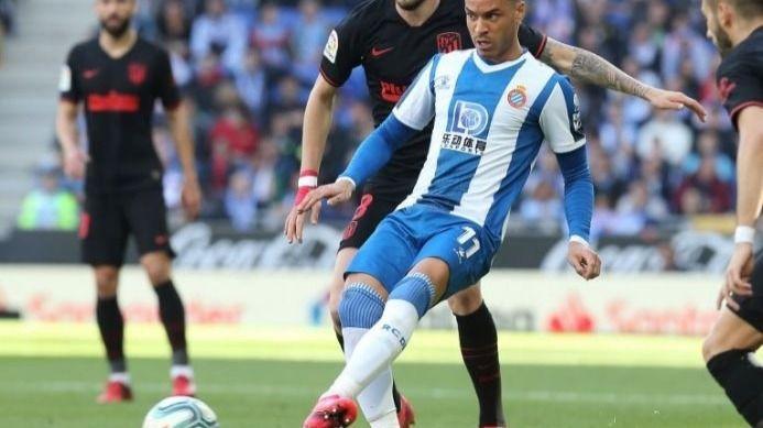 Raúl de Tomás y Saúl Ñíguez en el Espanyol-Atlético futbol