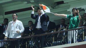 El presidente de Madagascar, Andry Rajoelina
