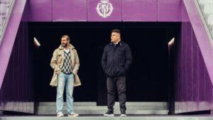 David Espinar y Ronaldo, del Real Valladolid