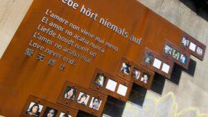 Memorial de las víctimas de la Loveparade en Duisburgo