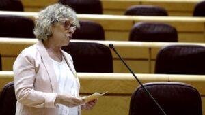 La portavoz de ERC en el Senado, Mirella Cortés