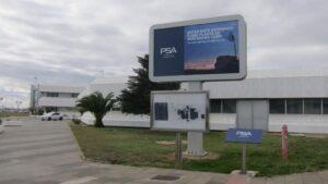 Planta de Groupe PSA en Figueruelas (Zaragoza).