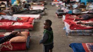 Centro de detención en Libia - Unicef