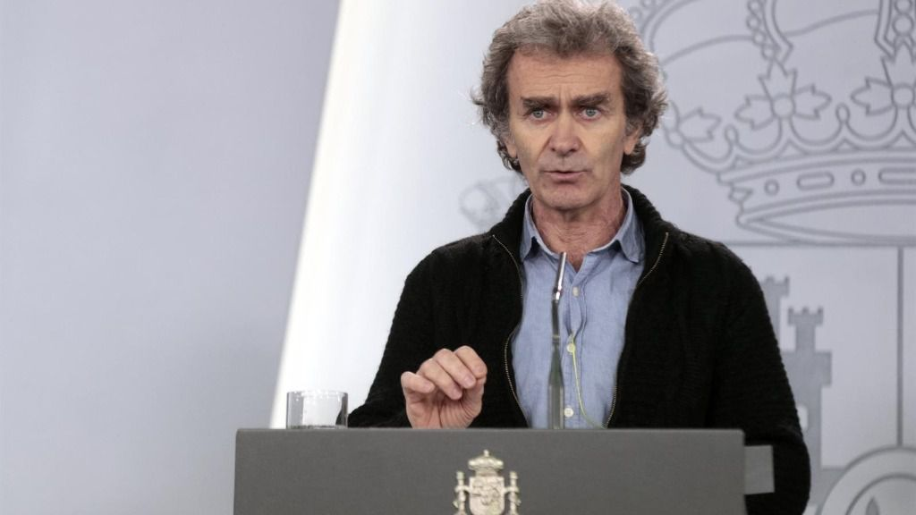 El director del Centro de Coordinación de Alertas y Emergencias Sanitarias del Ministerio, Fernando Simón