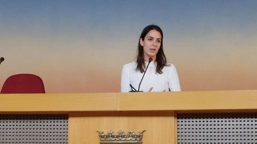 Rueda de prensa de la portavoz mediática de Más Madrid, Rita Maestre