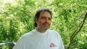 Vasilis Stravaridis, director de Médicos Sin Fronteras Grecia