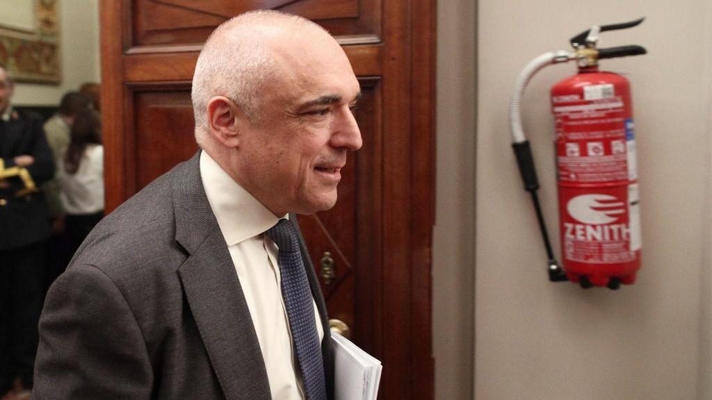 El secretario general del Grupo Socialista, Rafael Simancas