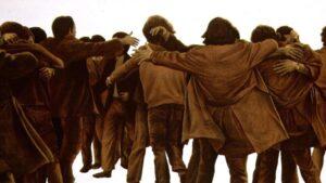 El Abrazo, de Juan Genovés