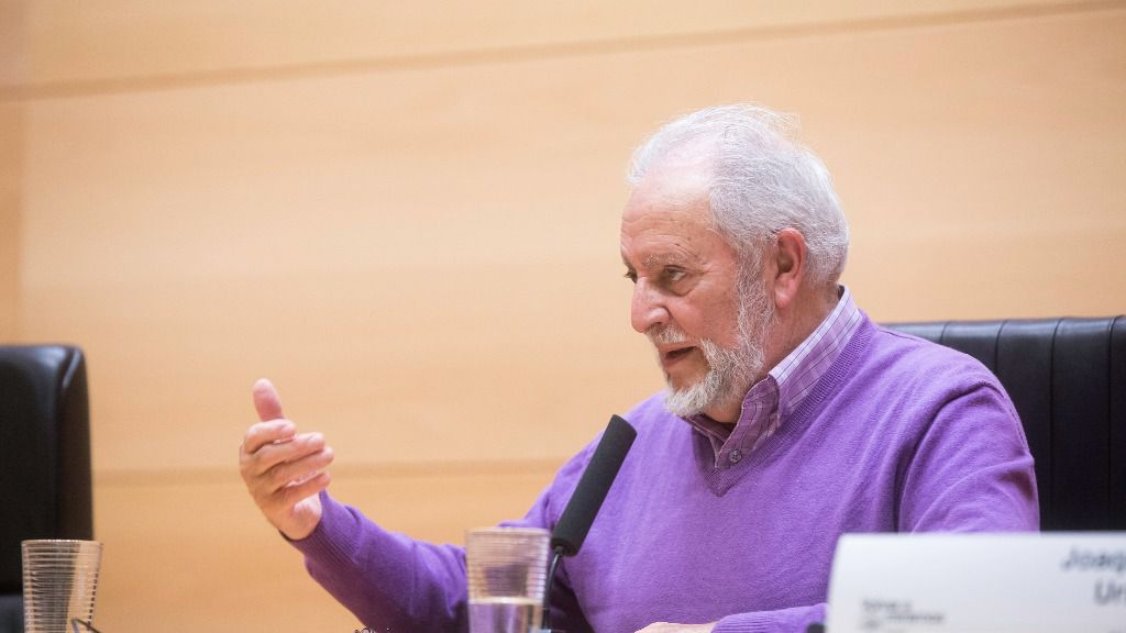 Julio Anguita, ex coordinador general de Izquierda Unida