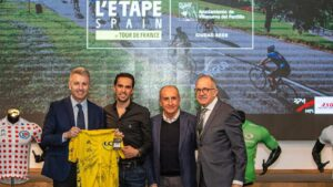 Alberto Contador será Embajador de L'Etape Spain by Tour de France en Villanueva del Pardillo (Madrid)