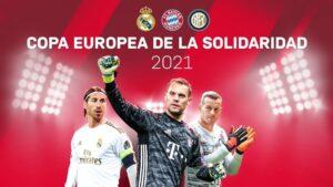 Cartel de la Copa Europea de la Solidaridad