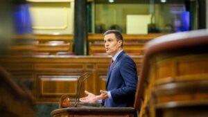 El presidente del Gobierno, Pedro Sánchez, defiende la solicitud de prórroga del estado de alarma hasta el 24 de mayo para hacer frente a la crisis sanitaria ocasionada por el COVID19.