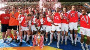 El Arsenal, campeón de la Premier League 2003-04