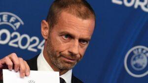 El presidente de la UEFA, Aleksander Ceferin