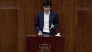 El portavoz de Más Madrid, Pablo Gómez Perpinyà