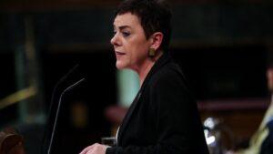 La portavoz de EH Bildu en el Congreso de los Diputados, Mertxe Aizpurua