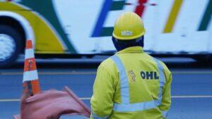 Trabajdor de OHL