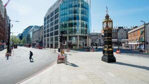 Calles de Londres durante la pandemia de coronavirus