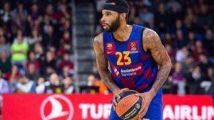 El jugador de baloncesto Malcolm Delaney en su etapa en el Barça