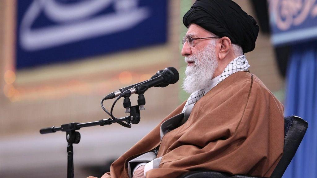 El líder supremo iraní, el ayatolá Alí Jamenei