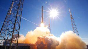 Lanzamiento de cohete SpaceX
