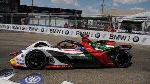 Daniel Abt pilotando en la Fórmula E - Sam Simmonds