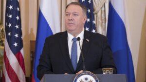 El secretario de Estado norteamericano, Mike Pompeo