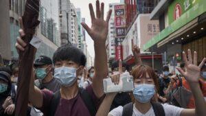 Protestas contra la ley de seguridad nacional en Hong Kong