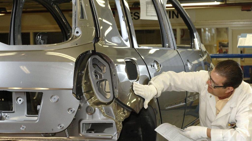 Fábrica de Renault en Valladolid.