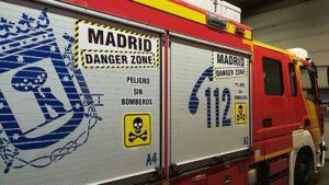 Proclamas de Bomberos de Madrid.