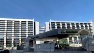 Edificio de la sede de Iberdrola en Madrid