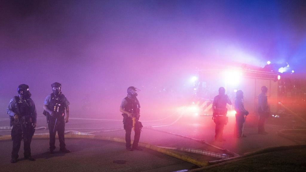 Protestas en Mineápolis tras la muerte de George Floyd