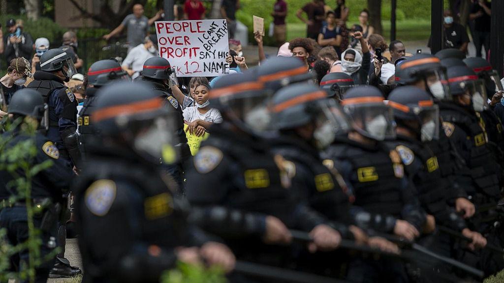 Protestas por la muerte de George Floyd en Sacramento