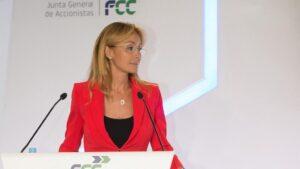 Esther Alcocer en la Junta General Accionistas FCC 2019
