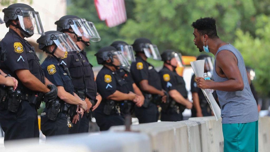Protesta en EEUU tras la muerte de George Floyd a manos de la Policía