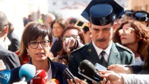 La directora de la Guardia Civil, María Gámez