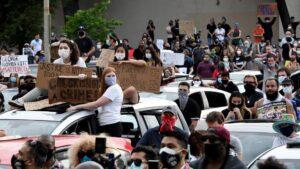 Manifestaciones por la muerte del ciudadano afroamericano George Floyd