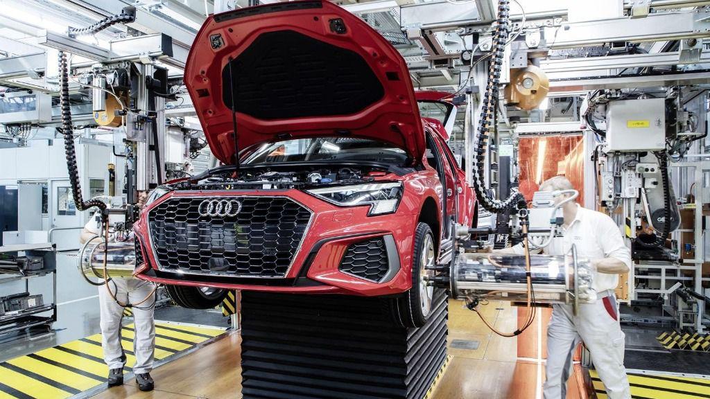 Planta de Audi en Ingolstadt (Alemania)