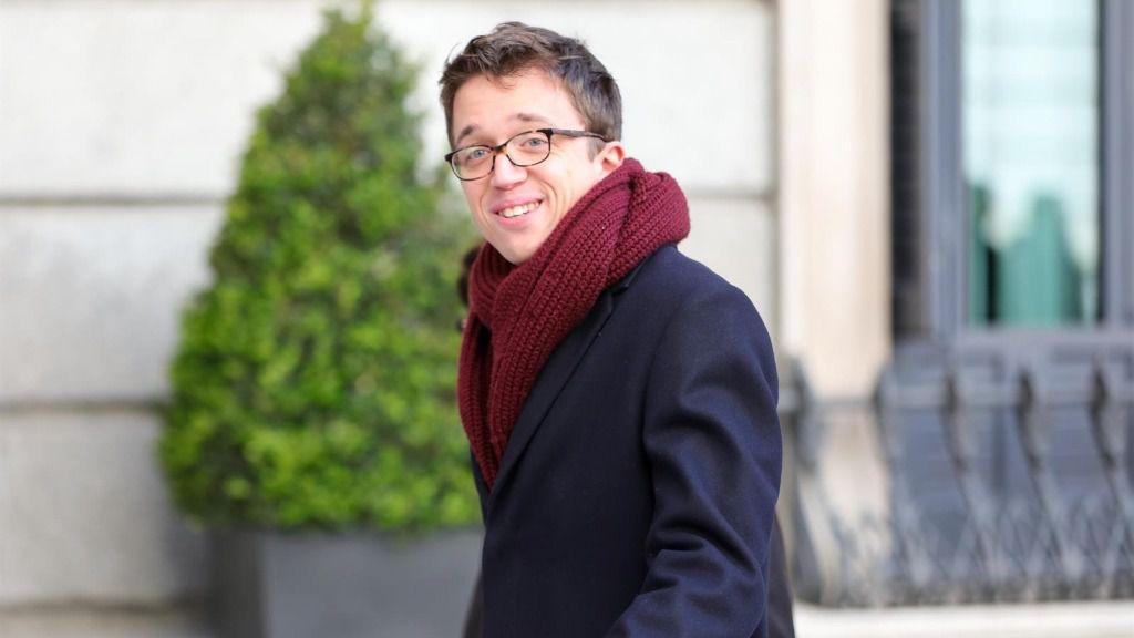 El líder de Más País, Íñigo Errejón, llega al Congreso de los Diputados