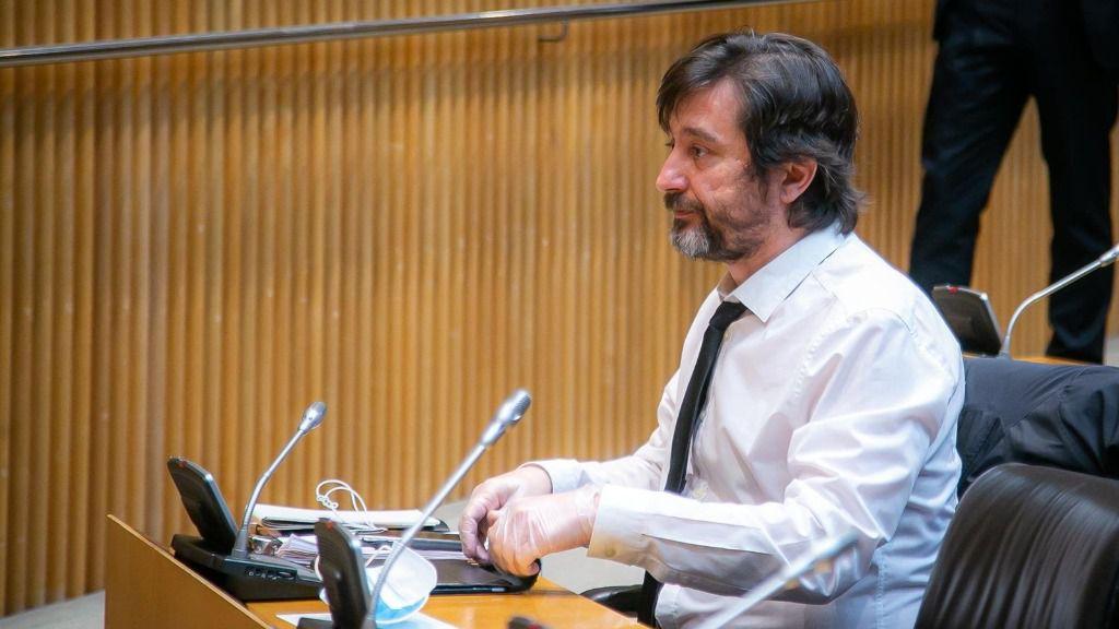 El diputado de Unidas Podemos Rafael Mayoral