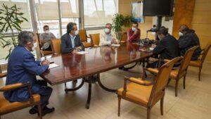 Reunión Revilla y Martín con comité de Nissan